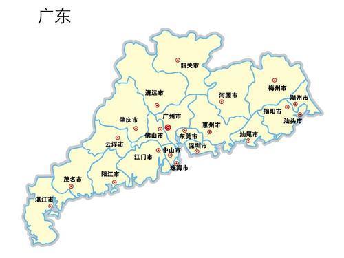 廣東省地圖