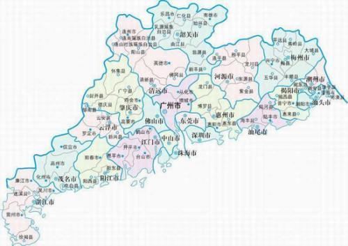 广东省地图下载-广东省地图2020高清版下载