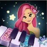 少女钢琴砖