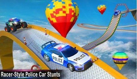 警察坡道汽车特技破解版截图