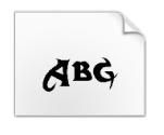 方正小標宋簡體字體