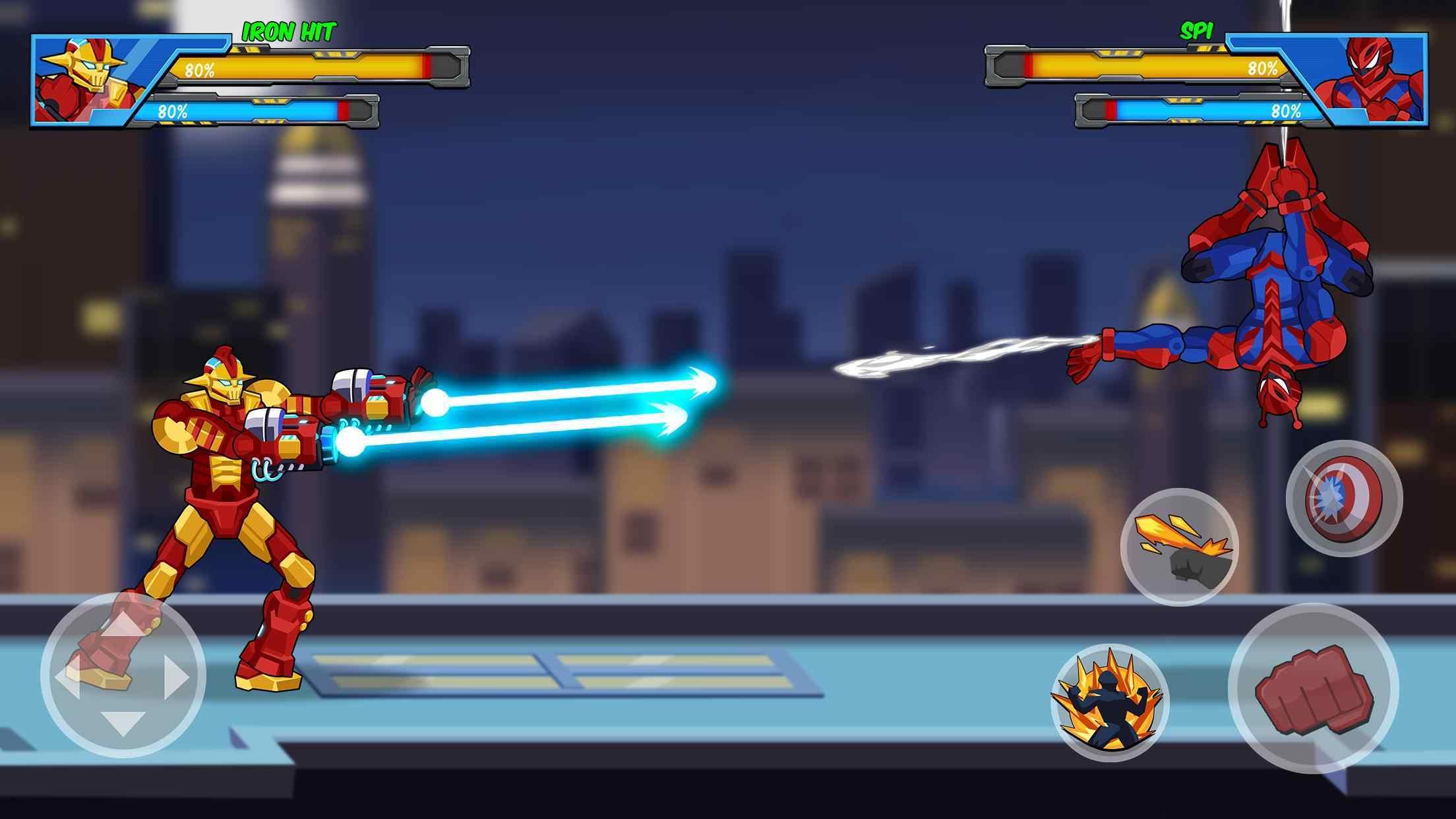 超级机器人英雄