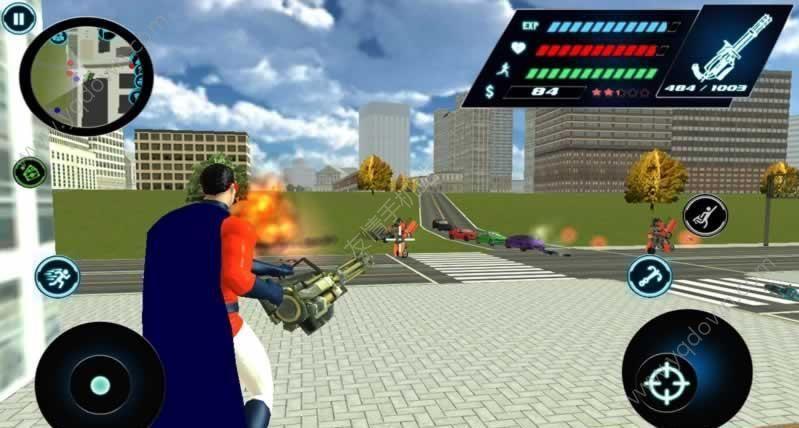 飞翔英雄3D破解版