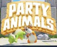 一条小团团玩的打拳游戏PartyAnimals