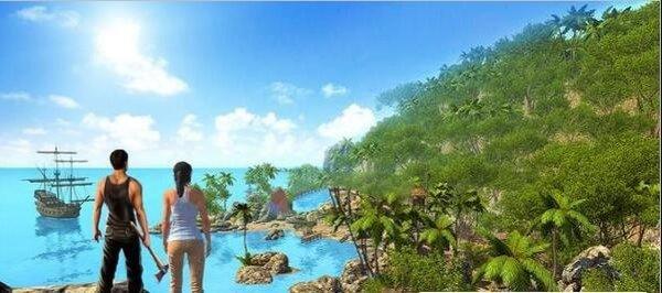 夫妻荒岛求生为玩家们带来了超级好玩的荒岛求生玩法