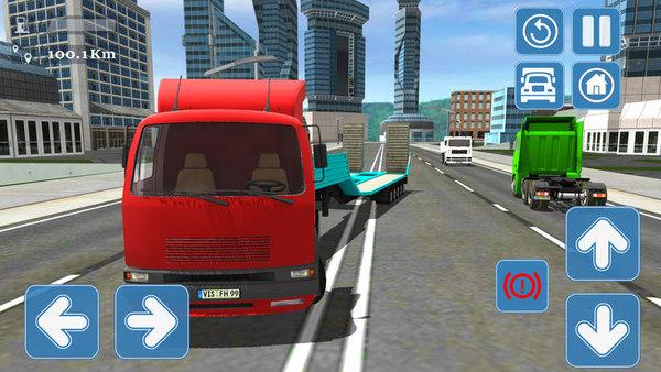3D欧洲卡车驾驶破解版截图