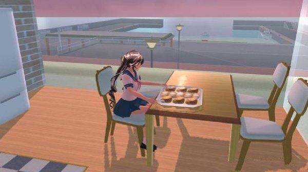 樱花校园模拟器装修版截图