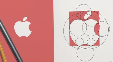 AI制作苹果logo