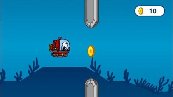 火柴人潜水艇截图