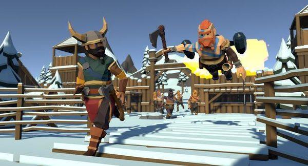 维京人部族冲突战争传奇游戏截图