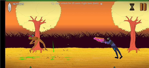 灵魂稻草人是一款超级有创意的趣味横版格斗手游,