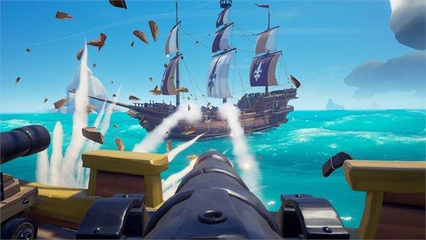 盗贼之海是一款十分自由的海岛冒险游戏