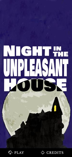在不愉快的房子里过夜