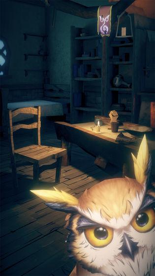 猫头鹰和灯塔截图