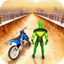 超级英雄自行车特技GT