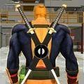 双剑超级英雄逃逸
