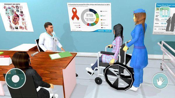 医院模拟器是一款十分真实的3D医院模拟器游戏