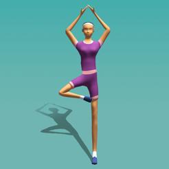 瑜伽弹力3D