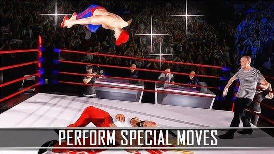 职业摔角比赛搏击赛2020