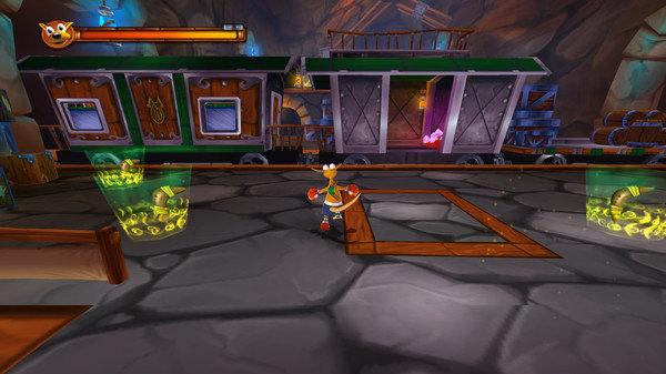 袋鼠kao闯关是一款十分炫酷的3D冒险类手游