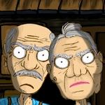 爷爷奶奶的恐怖屋子逃生