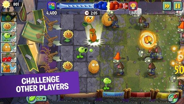 pvz2国际版无限钻石是一款十分经典的植物大战僵尸游戏