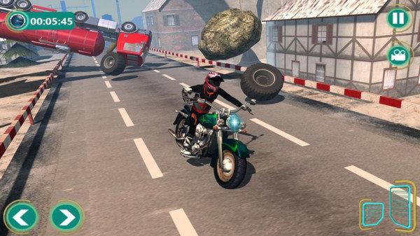 逆转重型自行车游戏