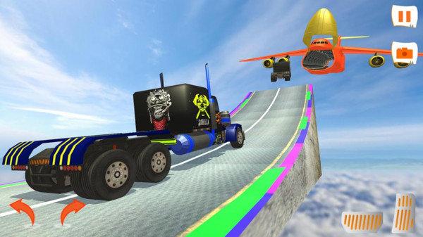 霓虹道卡车游戏