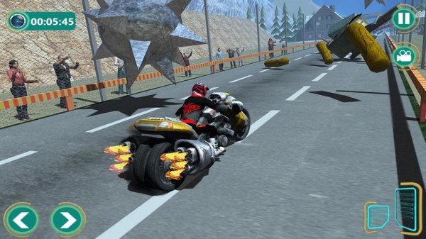 逆转重型自行车游戏截图