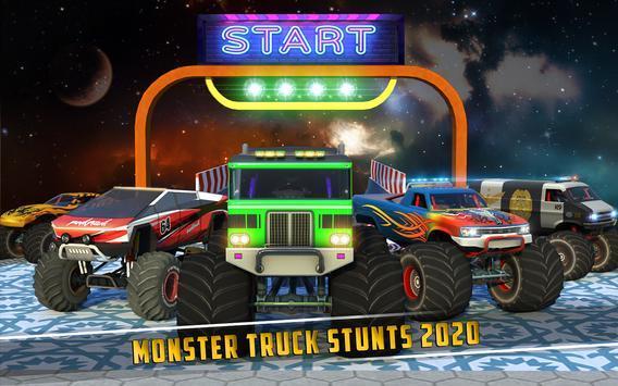 怪物卡车坡道特技