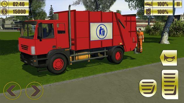 垃圾运输车驾驶模拟器