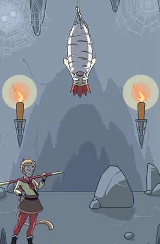 救救师傅是一款卡通风格的趣味游戏,