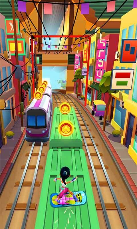 地铁跑路游戏是一款在线奔跑的趣味跑酷游戏,