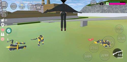 樱花校园模拟器外星人下载-樱花校园模拟器外星人中文版下载