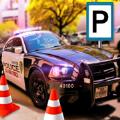高级警察停车场