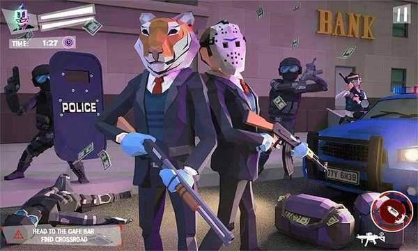 洛杉矶银行抢劫