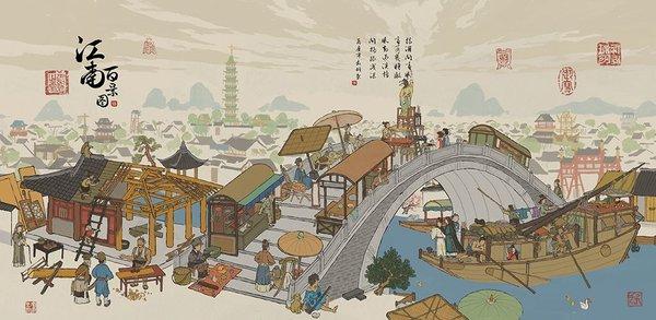 江南百景图苏州介绍