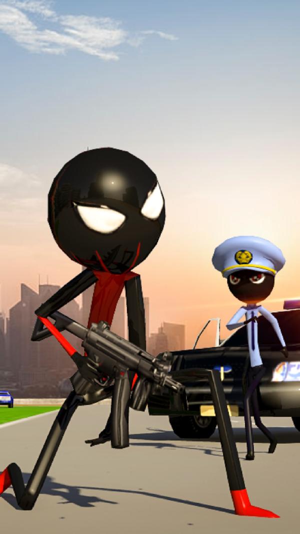 蜘蛛火柴人超级城市
