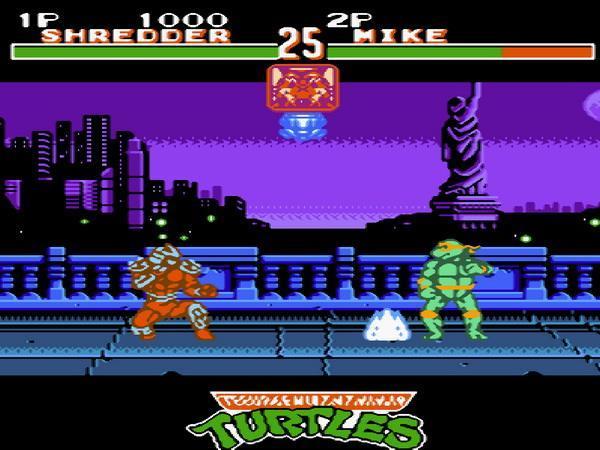 忍者神龟5格斗大会街机版