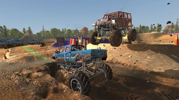 泥地越野车截图