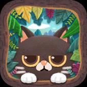 神秘森林猫