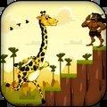 长颈鹿奔跑