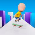 滑板冲浪者3D