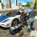 警察司机模拟器3D