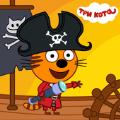 儿童猫海盗宝藏