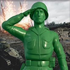 玩具士兵军队战斗