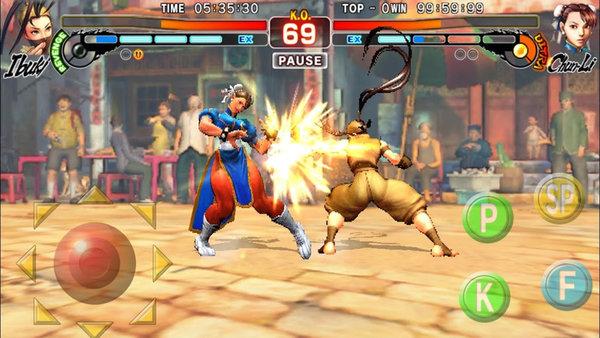 街头霸王4冠军版手机版下载-街头霸王4冠军版全人物破解版下载