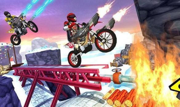现代摩托车特技赛车游戏下载-现代摩托车特技赛车最新版下载