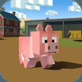 块状猪模拟器3D