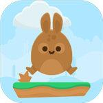 跳跃的大肚兔